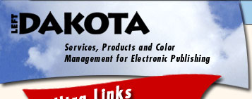 Left Dakota: Services, Products and Color Management for Electronic Publishing